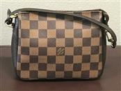 LOUIS VUITTON Handbag DAMIER EBENE TROUSSE MAKE-UP COSMETIC POUCH